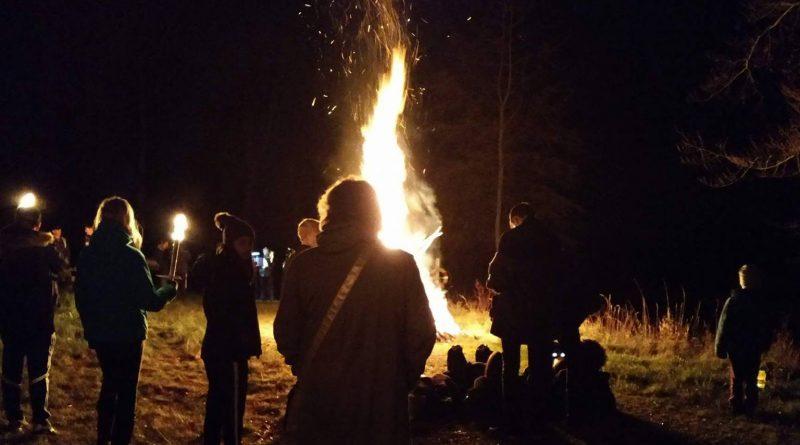 Gjerrild – Lanternefest med 300 fremmødte